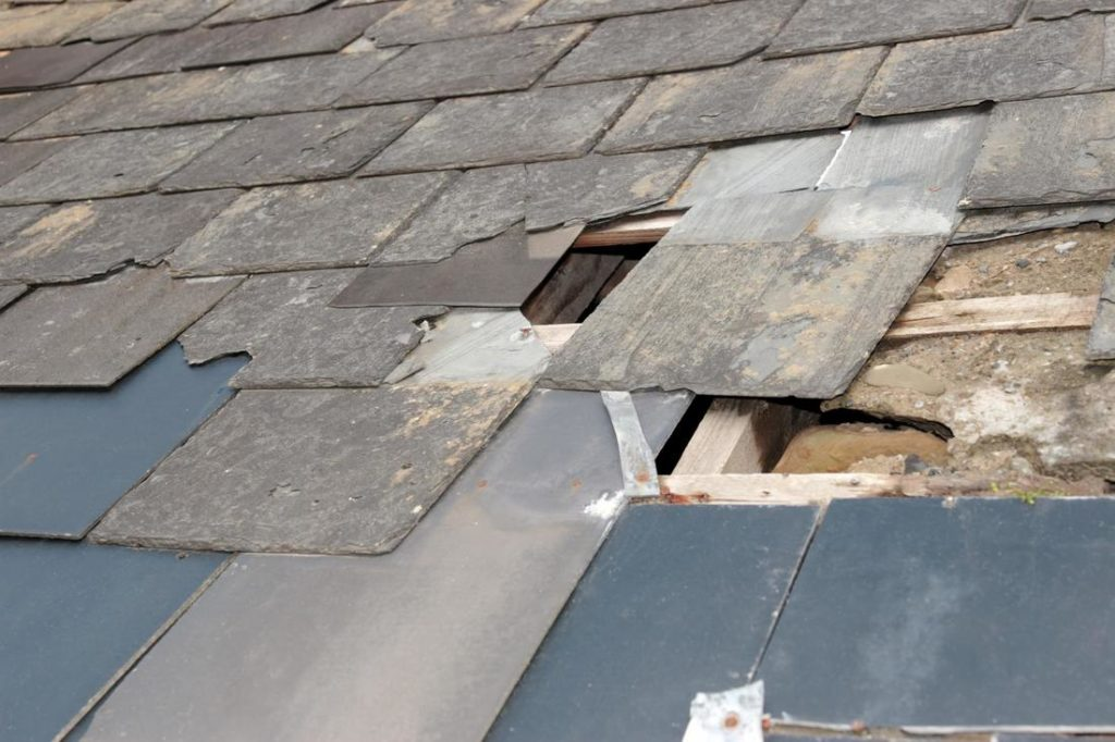 Examine Your Roof After A Storm